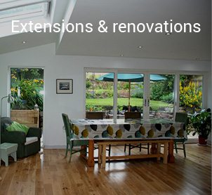Interior image of home extension and renovation by Ross Smith & Jameson