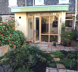 Home extension by Ross Smith & Jameson, Architect Edinburgh