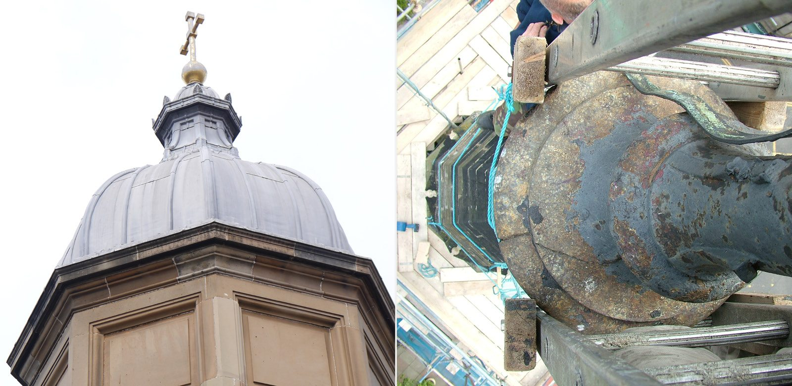 Building inspection of church roof and historic building by Ross Smith & Jameson