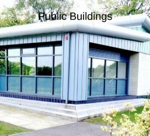 Public building architecture by Ross Smith & Jameson Architecture
