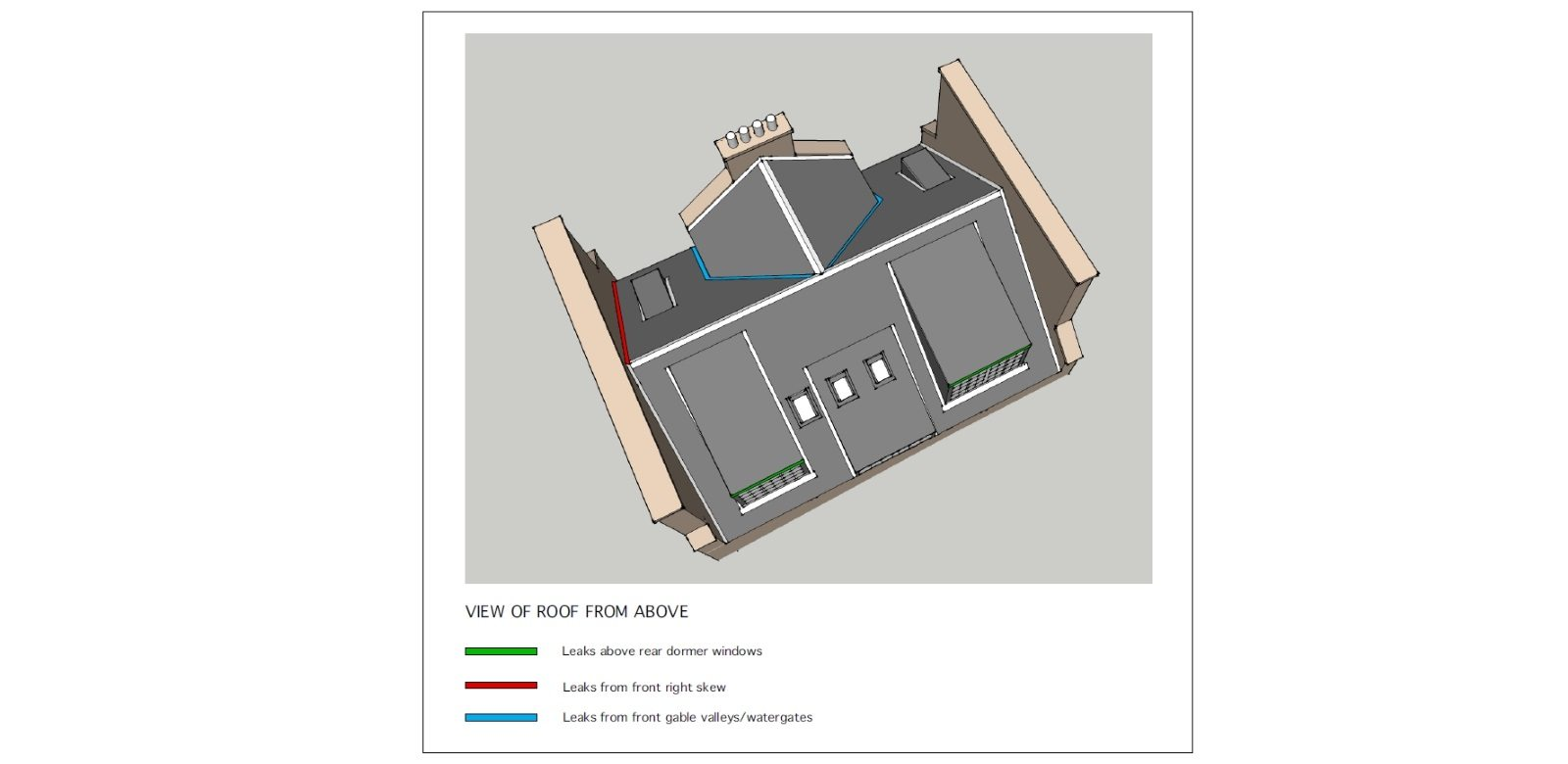 Architect expert witness report extract - Ross Smith & Jameson Architecture